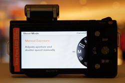 Sony NEX-5 rear view