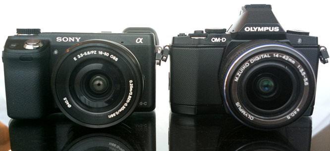 Sony NEX 6 Vs Olympus OM D E M5 (2)