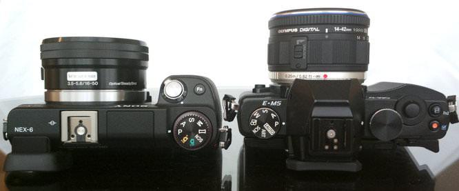 Sony NEX 6 Vs Olympus OM D E M5 (3)