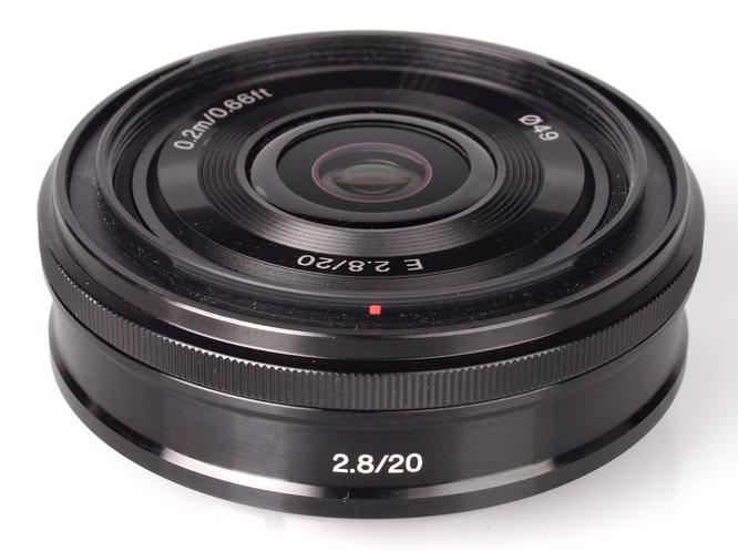 Sony E Mount 20mm F28 (2)