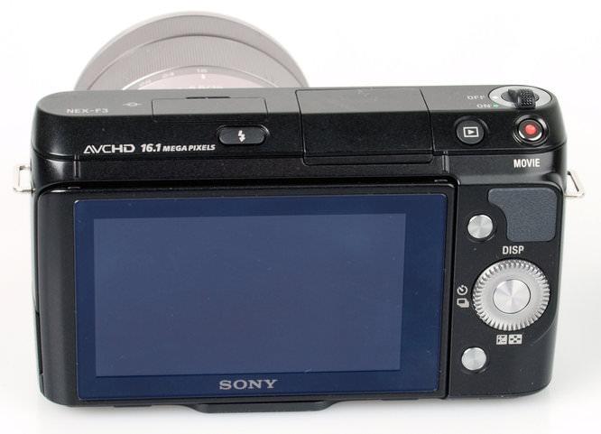 Sony Nex F3 Rear