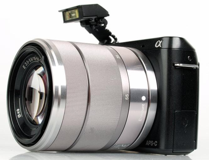 Sony Nex F3 Flash Up