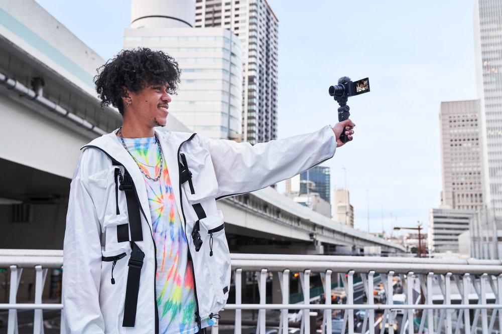 ZV 1 VPT2BT Grip Selfshooting Vlogger Large
