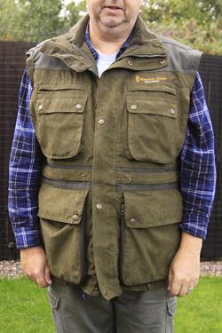 The Stealth Gear Jacket as a Waist Coat
