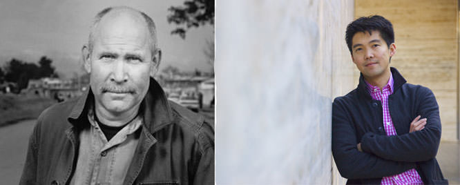 Steve McCurry and Ren Ng