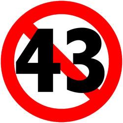 Stop43 Logo