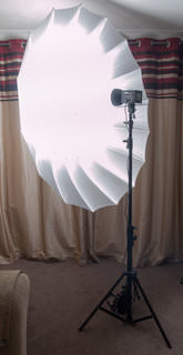 Strobeam Brolly-coverage