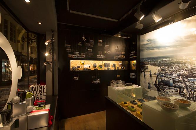 Leica store inside
