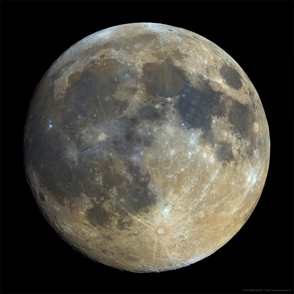 Bicolor full Moon
