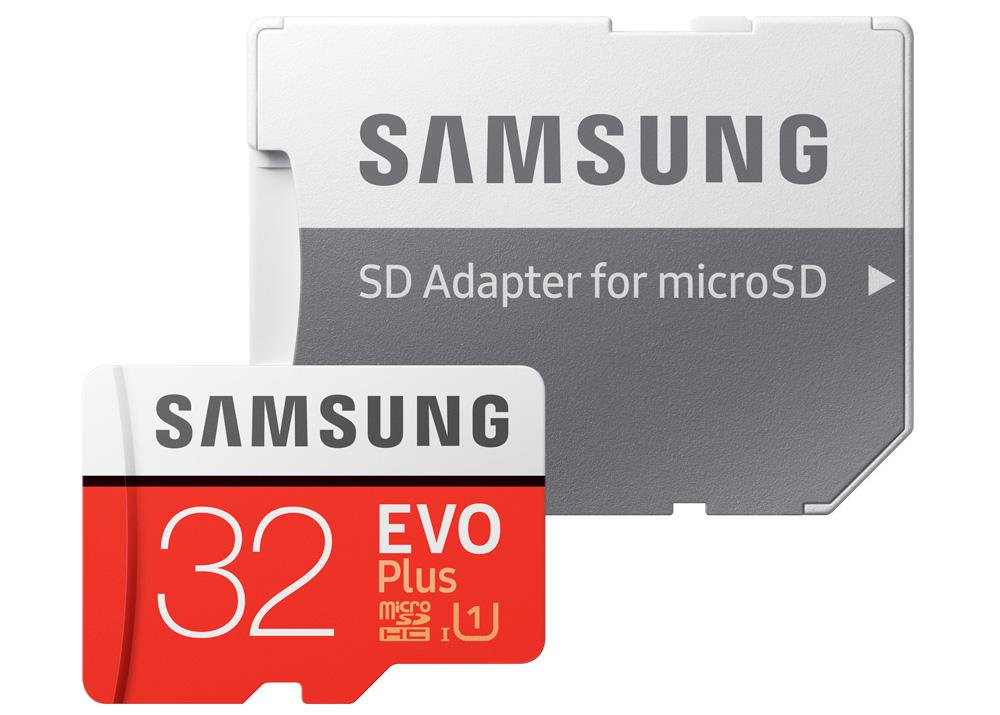 Samsung 32GB Evo memory card