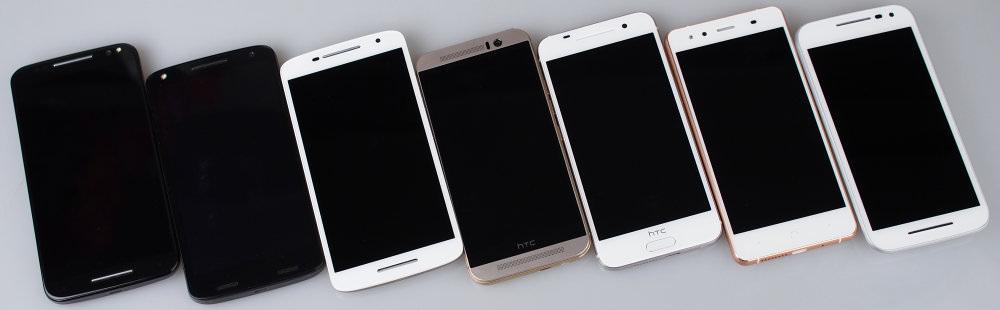 7 Phones Large (Moto X Style, Moto X Force, Moto X Play, HTC One M9, HTC A9, BQ X5, Moto G)