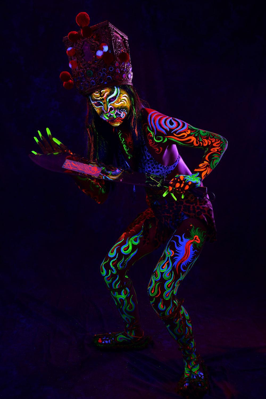 Fluorescent Tiger