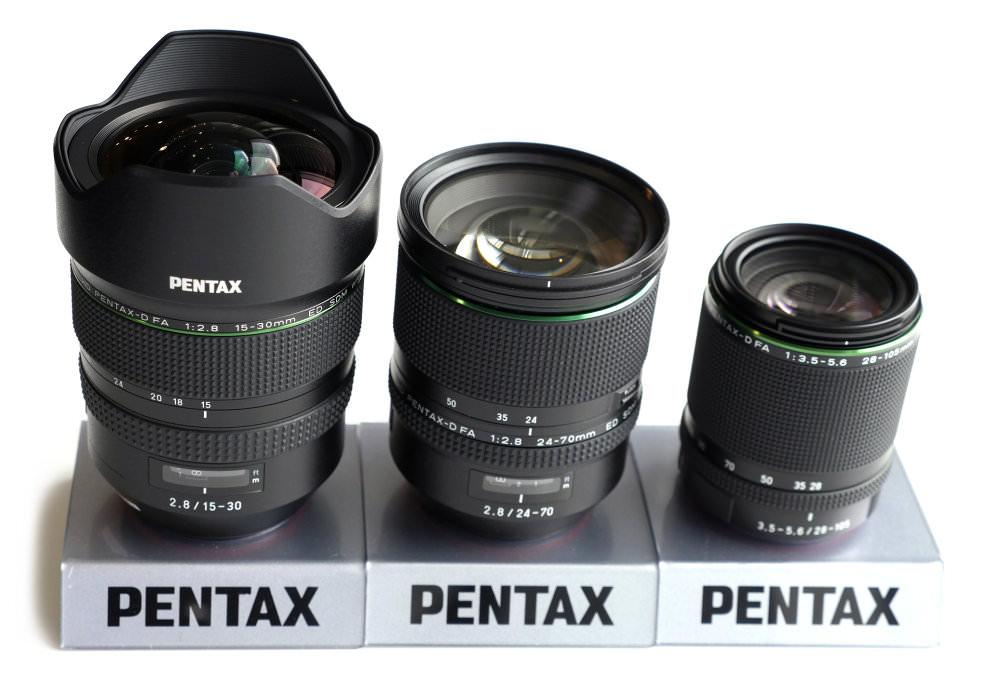 Pentax Full-Frame And APS-C Lenses