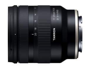 Tamron 11-20mm F/2.8 Di III-A RXD Lens Announced For Sony APS-C Mirrorless Cameras