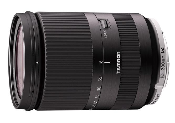 Tamron 18-200mm lens