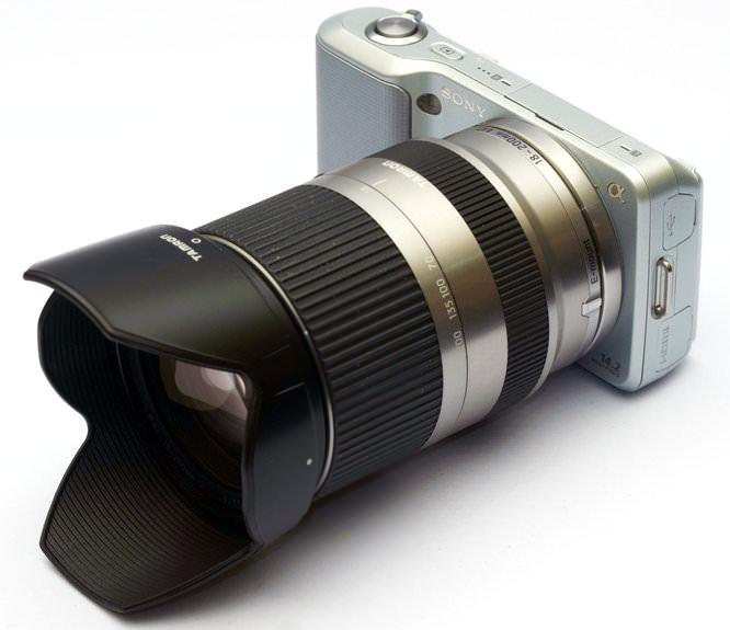 Tamron 18-200mm F/3.5-6.3 Di III VC on Sony NEX-3