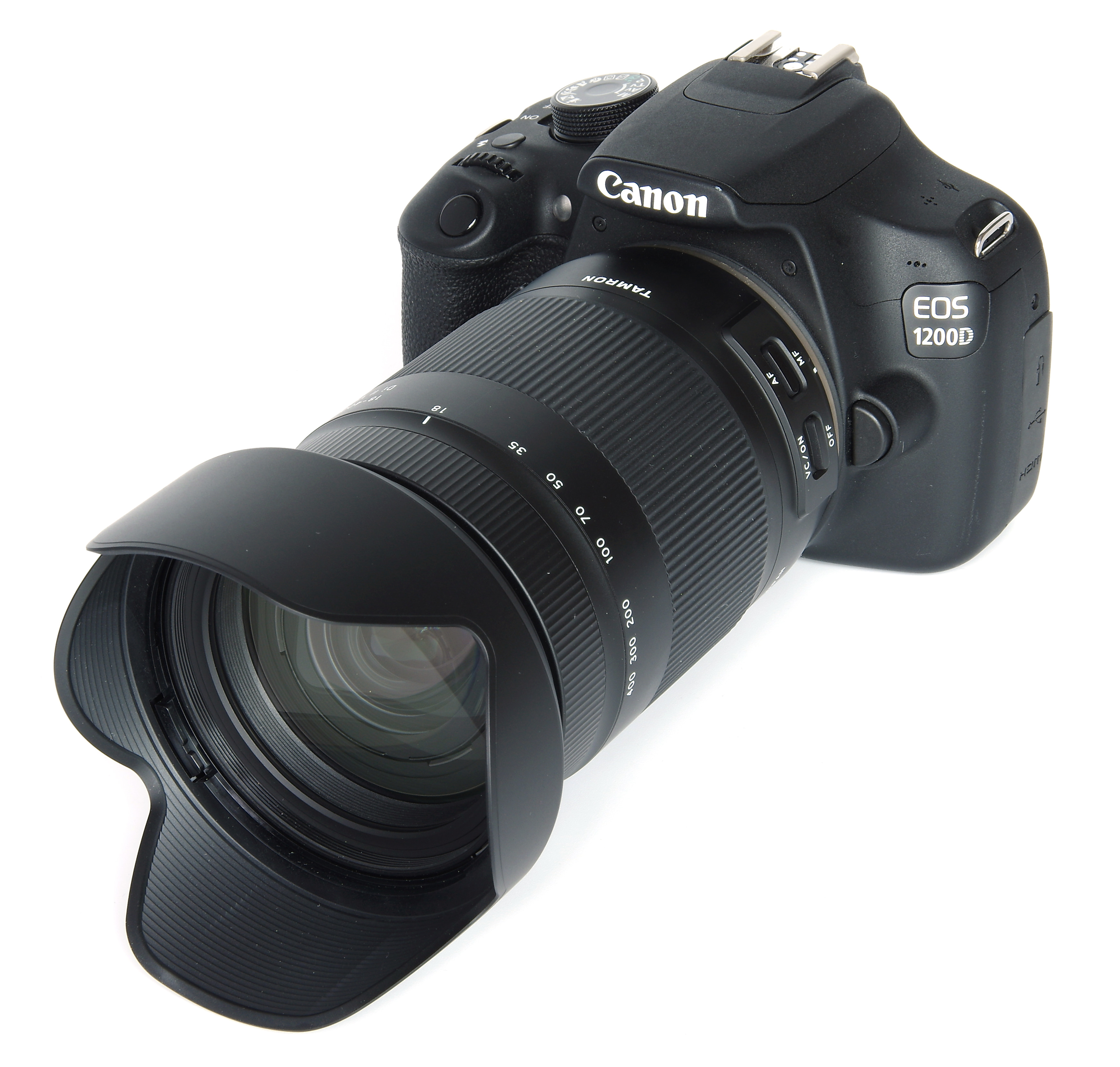 Tamron 18 400mm F 35 63 Di Ii Vc Hld Review Canon Eos 1200d Lensa 55mm Kamera Kit On With Hood