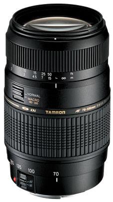Tamron AF 70-300mm F4-5.6 Di LD Macro main image