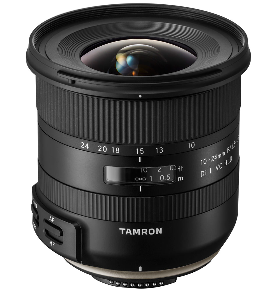Tamron 10-24mm wide angle lens