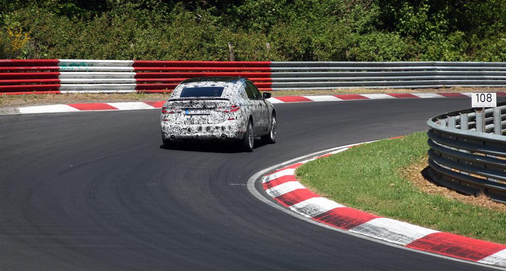 Car on the Nurburgring