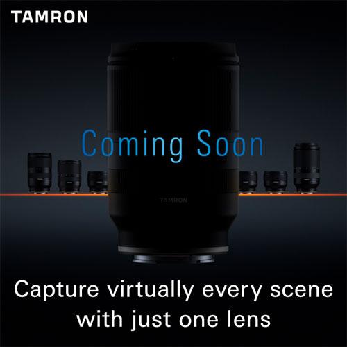 Tamron lens teaser