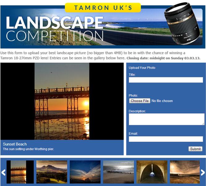 Landscape Competition Facebook