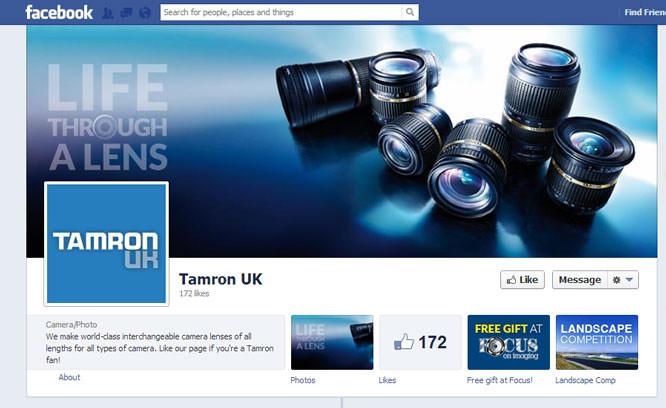 Totally Tamron Facebook Page