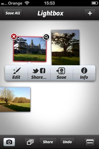 Tap Tap Tap Camera+ Version 3 iOS App