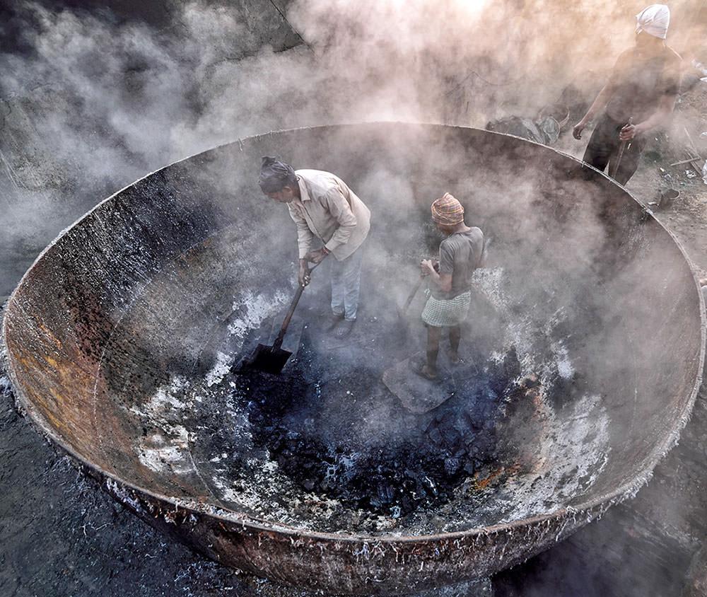 Life in a boiler
