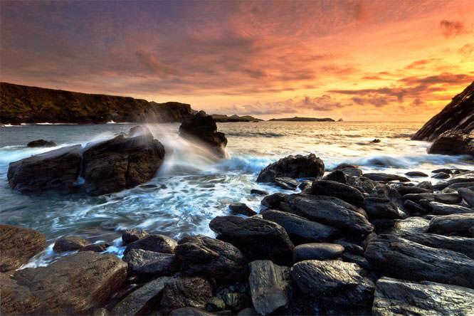 Valencia Island  coast