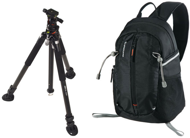 Vanguard bag and tripod