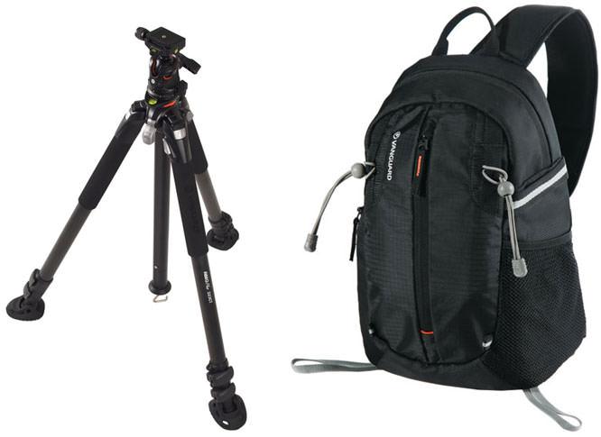 Vanguard bag and tripod
