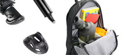 Vanguard ABEO tripod feet and Kinray bag
