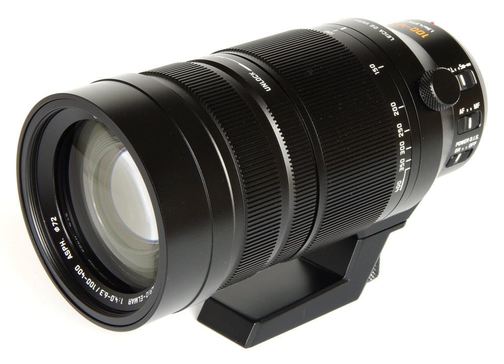 Lumix 100 400mm Front Oblique