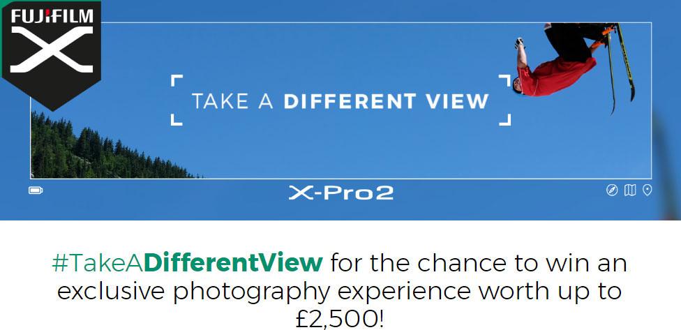 Fujifilm take a different view