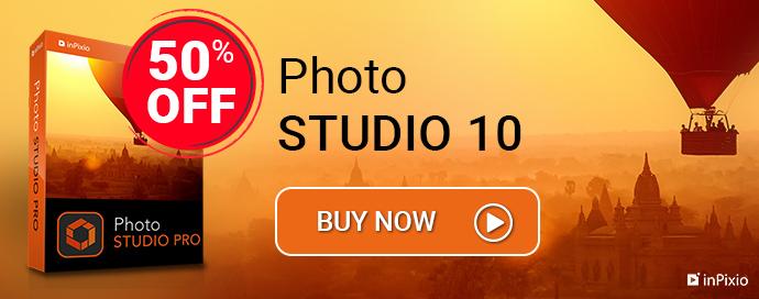 Save 50% On inPixio Photo Studio 10 Pro Software