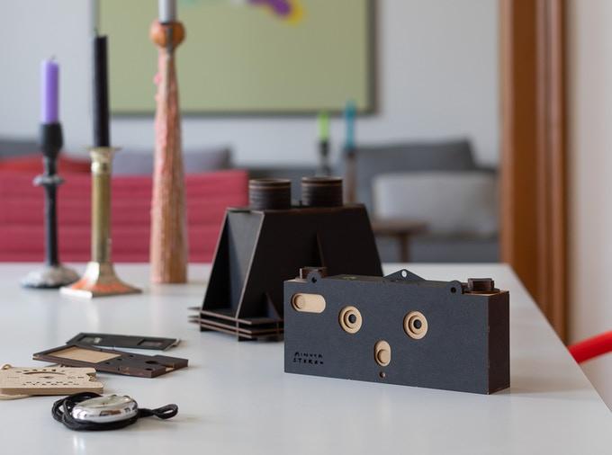 MINUTA STEREO - A Stereoscopic Pinhole Camera