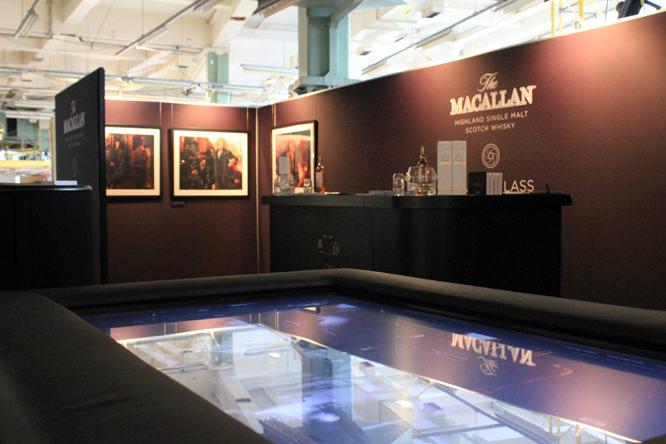 Macallan designjunction stand