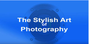 The Stylish Art Of Photography - David Thorpe