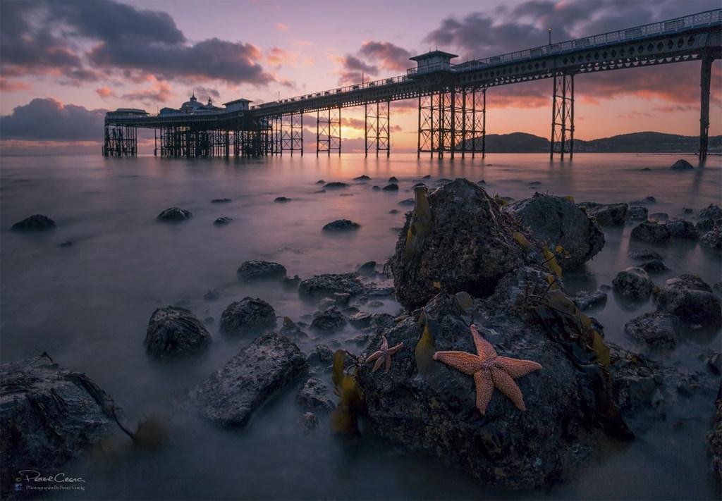 Llandudno Pier Sunrise