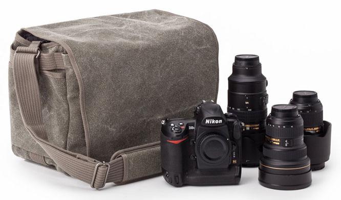 Retrospective camera bag