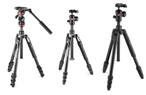 Three New Tripods For The Manfrotto Befree Collection