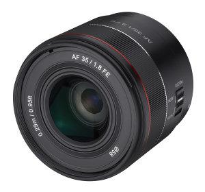 Tiny Samyang AF 35mm f/1.8 FE Lens Announced