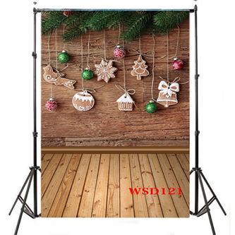Thin Vinyl Studio Christmas Backdrop CP Photography Prop Photo Background 5x7FT WSD121