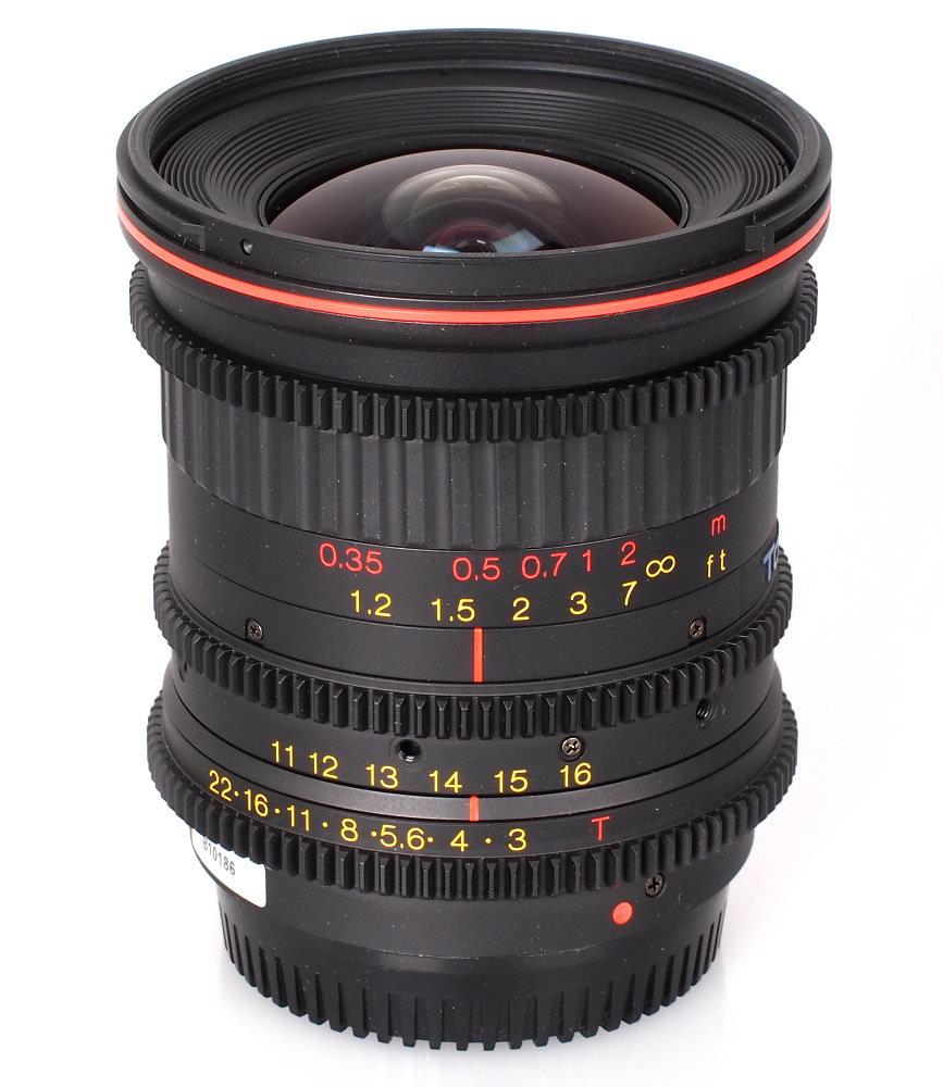 11-16mm T3.0 Cine Lens