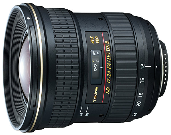 Tokina AF 12-24mm f/4 AT-X 124 Pro DX MkII