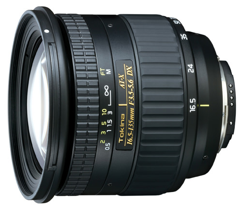 Tokina AT-X 16.5 135mm DX Compact Super Wide Zoom Lens