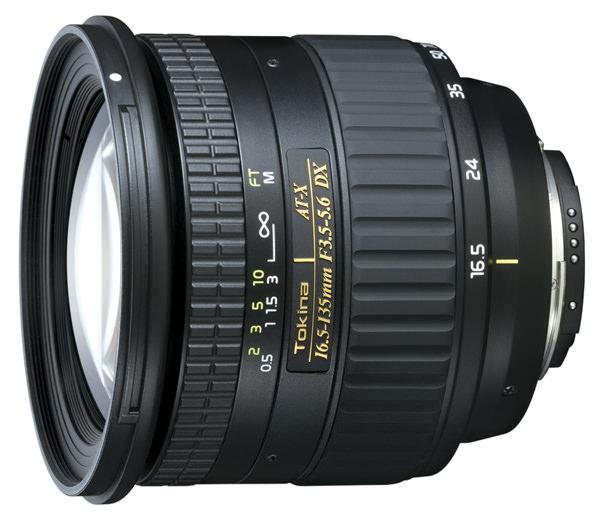 Tokina ATX AF 16.5-135mm f/3.5-5.6 Lens