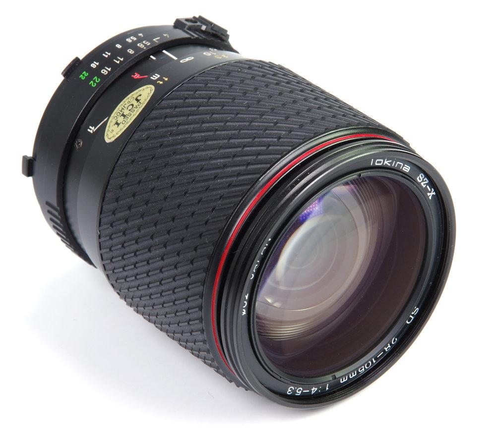 Tokina 28 105mm Front Oblique View