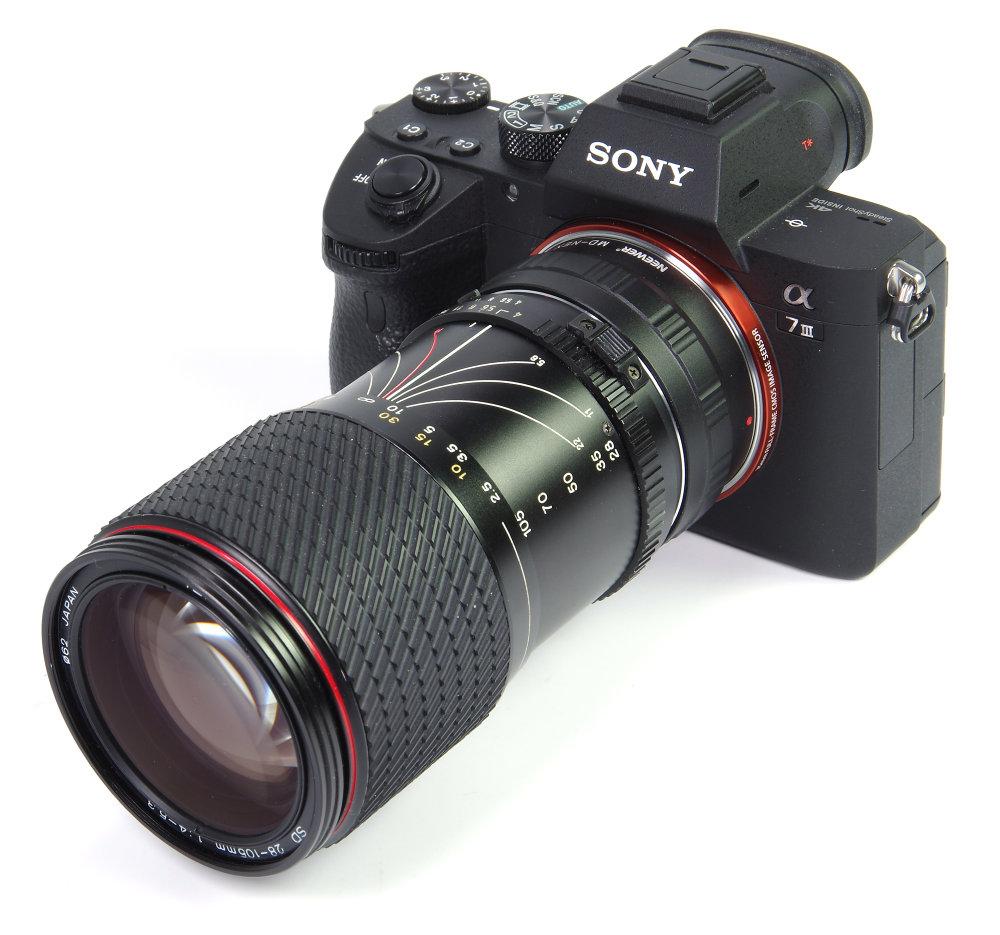 Tokina 28 105mm On Sony A7III Full Zoom